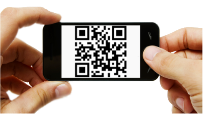 Image result for qr code scan png